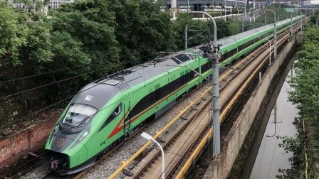 [火车][高原复兴号动集注意] CR200JS-G HXD1D-J+FXN3-J 中车株机