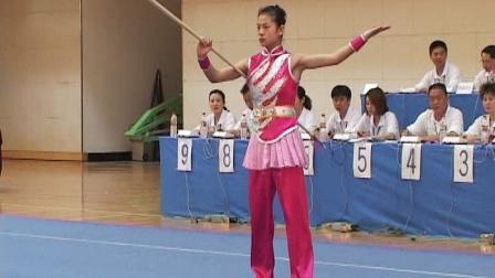 2006年全国青少年武术套路锦标赛 女子枪术 025 邹纯