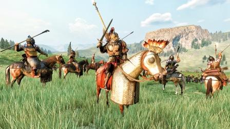 【虾米】挥师北伐!大草原上的惨烈一战!骑马与砍杀2 第九期