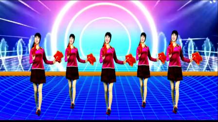 精选广场舞《新年喜洋洋》欢快喜庆, 锣鼓鞭炮响起来!
