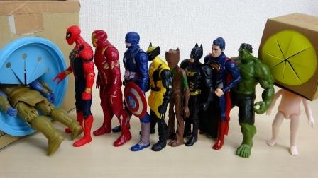 超级英雄玩具故事:咋回事?钢铁侠的好朋友为何进不去玩具箱?