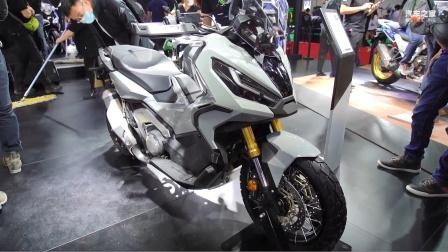 北京国际摩托车展 实拍本田X-ADV