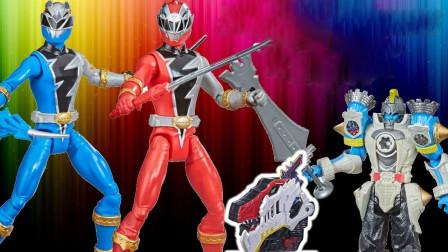 超能战队变形玩具展