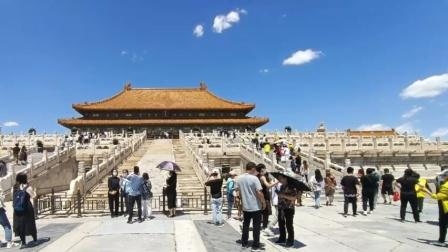 北京故宫博物院游玩