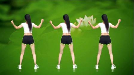 健身操《爱的暴风雨》跟着背面练3遍,一个月轻松瘦