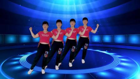 郴州冬菊广场舞【满身花雨又回来】大众健身舞正面演示附背面分解