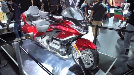 北京国际摩托车展 实拍本田金翼