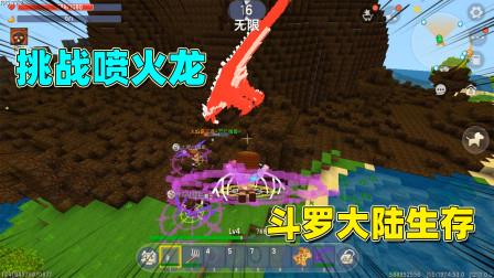 迷你世界:斗罗大陆最终章,挑战最终boss!骨龙喷火龙纷纷来袭!
