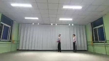 母女合作古典舞恨在今天再相遇,阜阳艺路舞蹈学校提供
