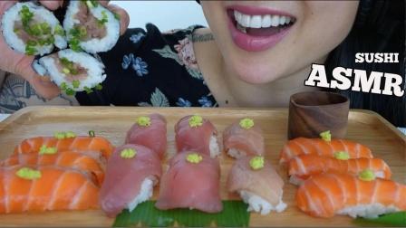 吃货:开吃寿司和生肉裹米,味道绝了