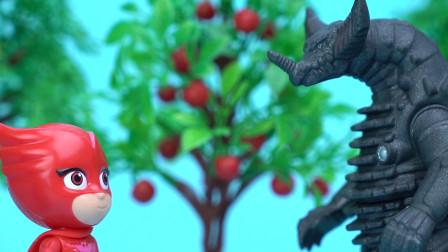 罗密欧变身哥莫拉吓坏小英雄 谁知真正哥莫拉来袭
