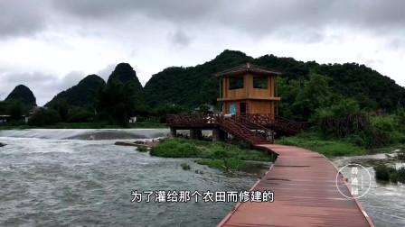 广西桂林发现一个好地方,景色不输阳朔遇龙河,可以钓鱼抓虾米玩