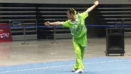 2006年全国女子武术套路锦标赛 女子长拳 006 王丽娟