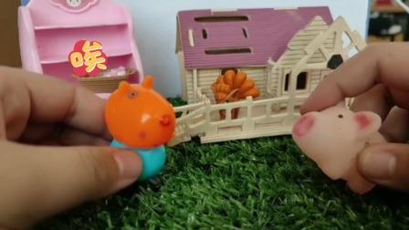 少儿益智小故事:小佩奇和小猪分猎物