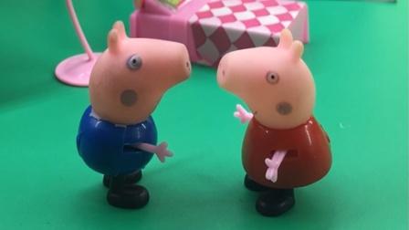 猪妈妈过生日,佩奇做的蛋糕会唱歌