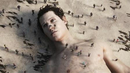 海滩突现巨人尸体沦为人类玩具,而人类就像蚂蚁,《溺毙的巨人》