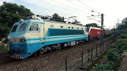 [火车][双机注意]SS8+HXD1D[K1096] 广州-达州 长沙新开铺上行
