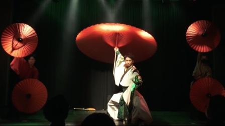 日本组合魔术 变伞