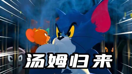猫和老鼠手游:汤姆猫归来,墙缝出现时就是我抓老鼠的时