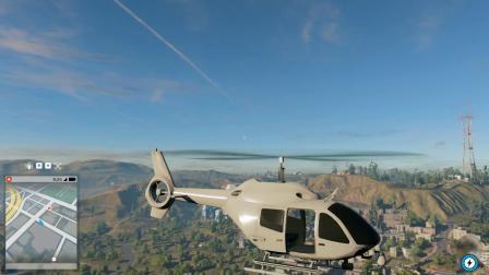 看门狗2:第224期 恋墨叫了一架直升机,只会倒着走不会前进