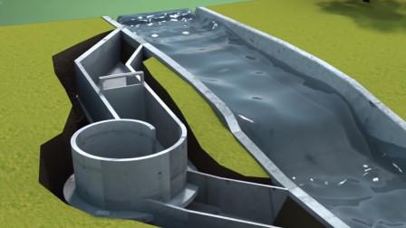 水力发电机是如何工作的?动画解释原理,多年疑惑解开了