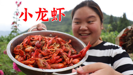 赶集买的4斤小龙虾,用蒜蓉酱和麻辣酱一起焖煮,味道出乎意料