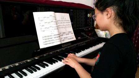 徐伟航同学钢琴弹奏《双手音阶跑动练习曲》