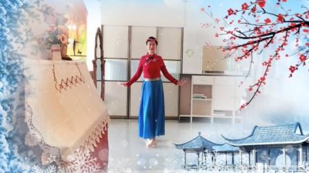 福如东海广场舞 《阿妈的笑脸》气质辣妈翻跳民族舞