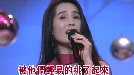 90年代台湾最有气质的美女歌手金素梅,也是台湾政坛长的最好看的立委
