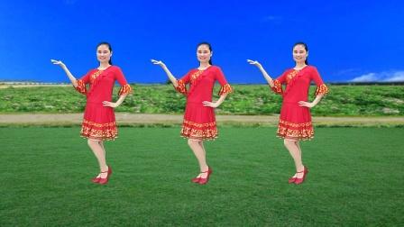 热歌新舞《花恋一只蝶》好听特别好看好跳