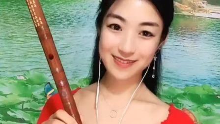 《遇上你是我的缘》笛子演奏,F调一节瑾儿乐坊学生专用笛子