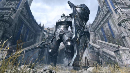 PS5独占游戏《恶魔之魂重制版》白金攻略流程P3-高塔骑士(不杀城墙8个弓箭手直接杀BOSS打法)