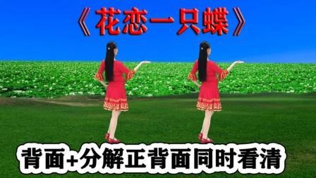 最新网红舞《花恋一只蝶》教学学跳健身快乐