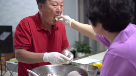豆腐还能做饭团?秀一下妈妈的独家秘方,还有爸妈甜蜜瞬间哦~