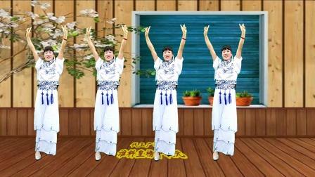 经典黄梅戏广场舞《为救李朗离家园》谁料皇榜中状元,演唱,童丽