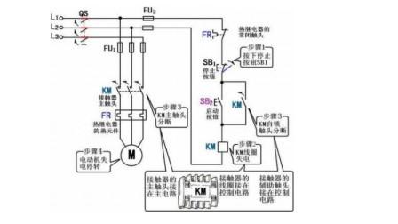 初学电工:怎么看懂电路图?再复杂的电路,按这3个步骤也能看懂