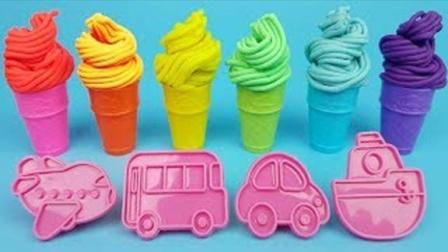 趣味彩泥小印章儿童益智玩具,早教启蒙认知萌宝学习认识颜色数字