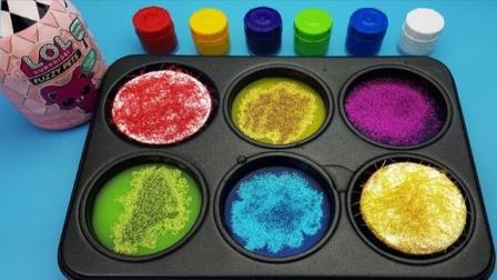 魔法染料盘魔力72变,儿童色彩认知萌宝学习认识颜色分享礼物啦