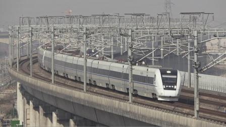 【2021.01.20】[杭州高铁枢纽][盈丰出租屋楼顶] D3291次 CRH1A-1088-1090