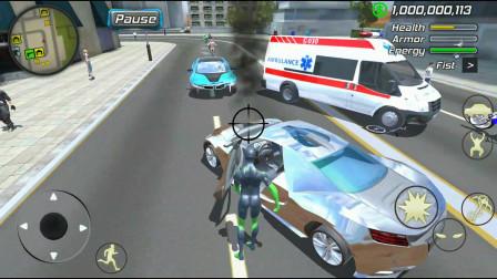 格斗小子发现一辆超级跑车,直接开走,太帅了!