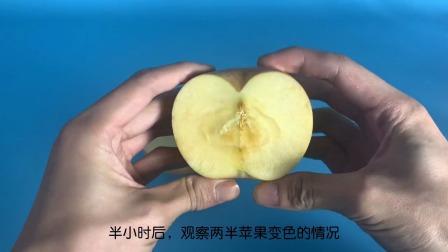 科学实验:变色的苹果!