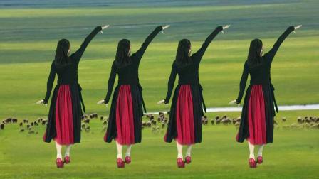 广场舞《草原姑娘唱情歌》歌声悠扬放声唱,愿和你相爱到地老天荒
