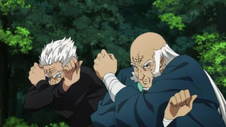 英雄们联手攻击蜈蚣长老,成功将攻击打入对方体内