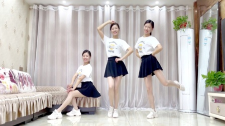 热门广场舞《烟雨人间》网红流行健身操