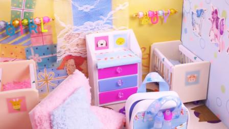 手工制作迷你娃娃屋:如何制作一间迷你婴儿房