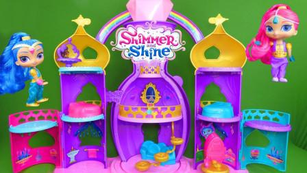 愿望精灵玩具拆箱:一起来拼装愿望精灵的精灵宫殿吧