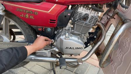 这才是造成摩托车冷车不好启动的真正原因!调整一下气门就能修好