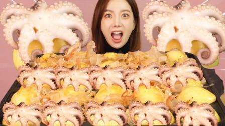 吃货:短须章鱼小丸子,好吃到爆