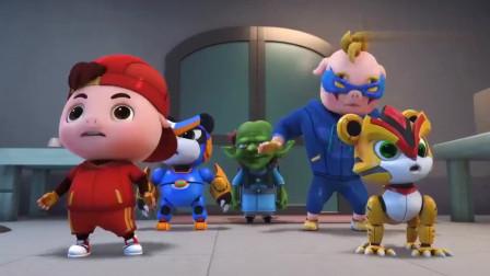 猪猪侠:又让猪猪侠当炮灰,超人强太无耻了,他自己怎么不上