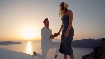Steve Cook - 求婚 - 希腊圣托里尼